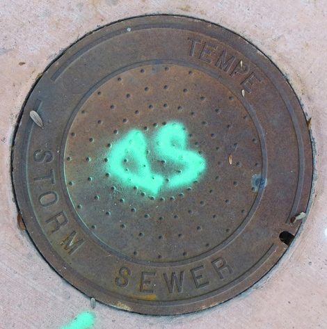 tempe sewer cover